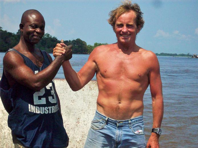 Roland Verbiest heeft zijn draai gevonden in Congo, hoe gevaarlijk het land ook is.