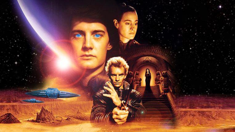 Affiche voor de David Lynch-verfilming van 'Dune' (1984). Beeld tmdb