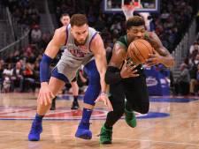Detroit Pistons stopt Boston Celtics
