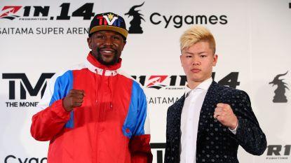 """Mayweather ontkent gevecht tegen Japanse kickbokser: """"Afspraken gemaakt zonder mijn goedkeuring"""""""