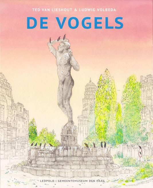 Omslag van het boek De Vogels  Is akkoord met het kosteloos plaatsen van de foto en akkoord met de algemene voorwaarden, alleen mogen de illustraties niet worden doorgeplaatst in andere kranten dan BN DeStem.