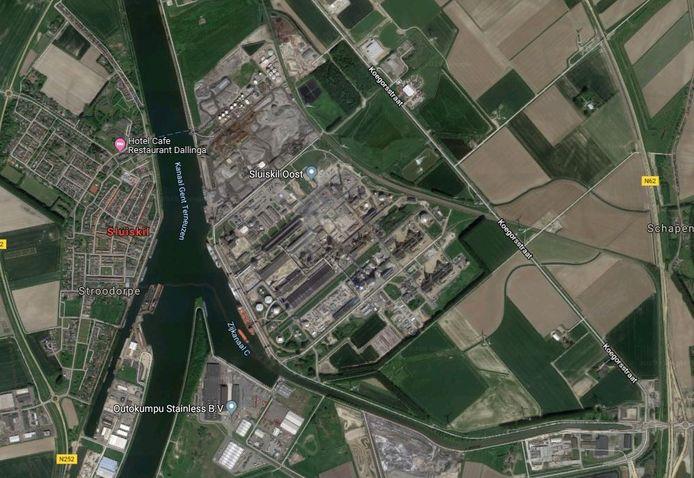 Twee van de vijf zonneparken in Terneuzen zijn gedacht bij Yara Sluiskil, zonneparken Koegorsstraat en Tractaatweg (N62).