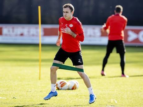 'Super Mario' is weer klaar voor negentig minuten bij PSV, waar samen centraal staat