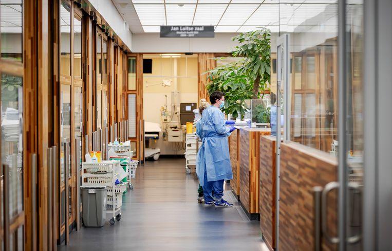 De afdeling spoedeisende hulp in het Amsterdam UMC, locatie AMC. Beeld ANP