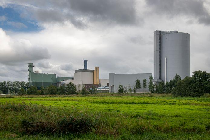 Een energiecentrale van Vattenfall in Diemen, die op aardgas draait.