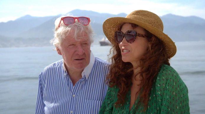 Willibrord Frequin en Katja Schuurman in Beter Laat Dan Nooit.