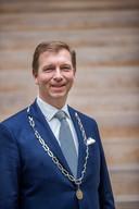20190124 Veenendaal: Burgemeester Gert-Jan Kats. (Foto Jeroen Jumelet)