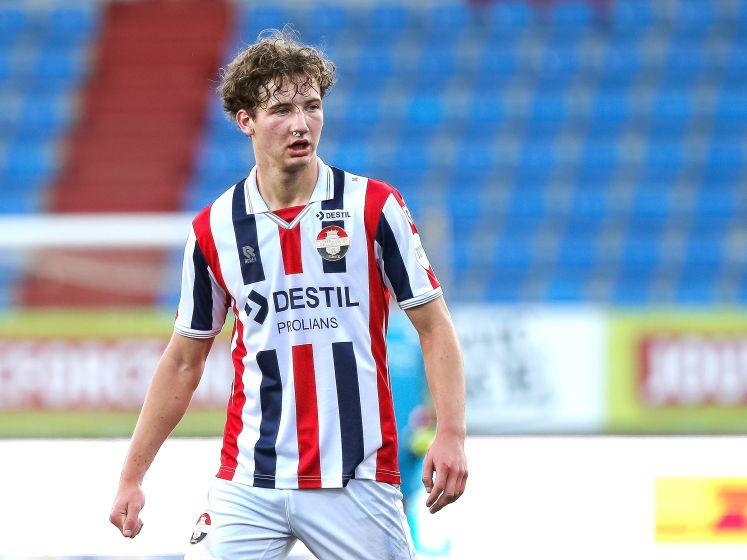 Willem II'er Wesley Spieringhs: 'Je moet hier drie punten pakken, klaar'