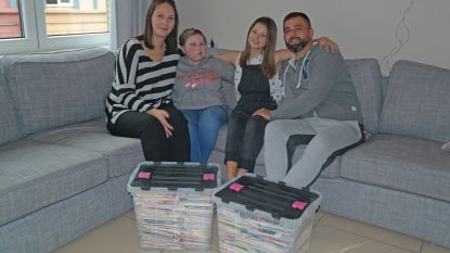 """Selin Sancak (13) en familie: """"Plots had onze postbode een bestelwagen nodig"""""""