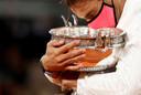 Rafael Nadal trok ook dit jaar aan het langste eind op Roland Garros.