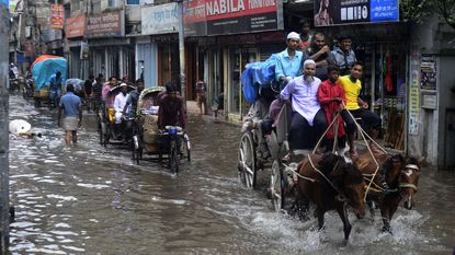 Hevige moesson zet Bengaalse hoofdstad blank