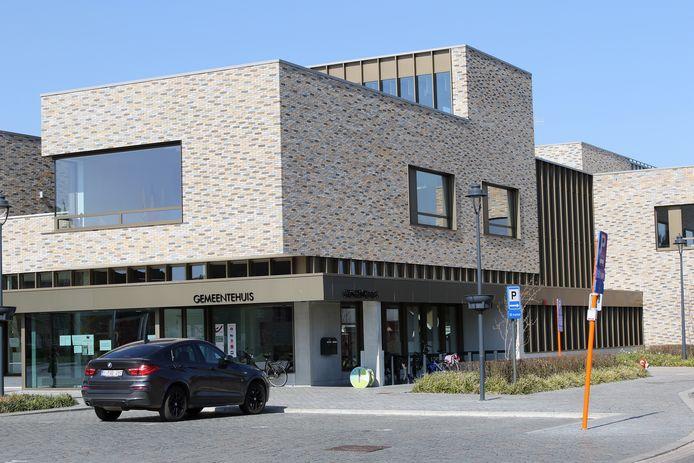 Het gemeentehuis van Laakdal.