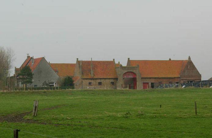 Wederopbouwhoeve De Roode Poort in Middelkerke.