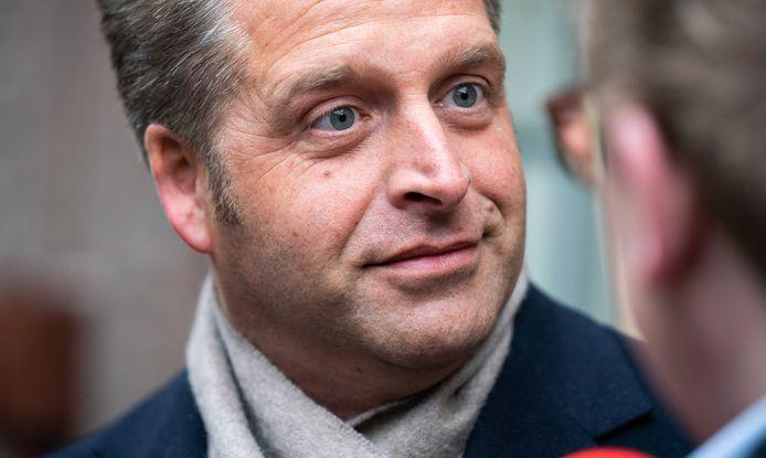 Minister De Jonge.