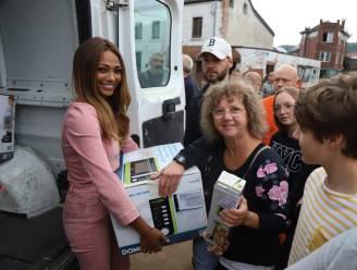 """Miss België gaat helpen in rampgebied na watersnood: """"Alsof ik in Afrika was, zo schrijnend"""""""