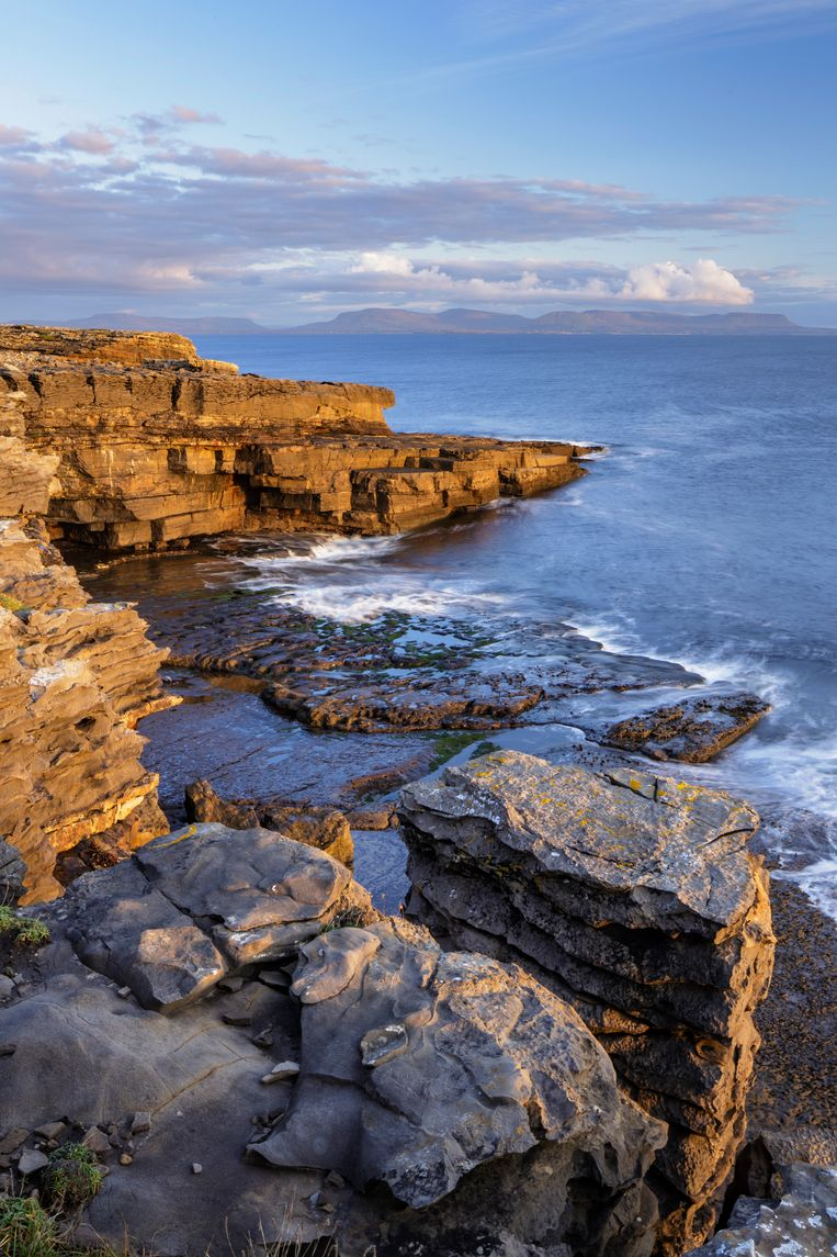 Muckros Head in Donegal, Ierland. Beeld Getty Images