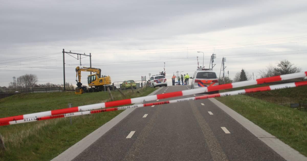 Aanrijding op het spoor: urenlang geen treinverkeer tussen Zwolle en Meppel.