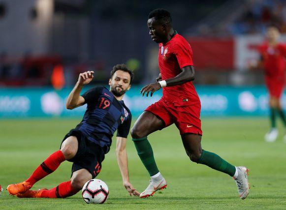 Milan Badelj in actie tegen Portugal.
