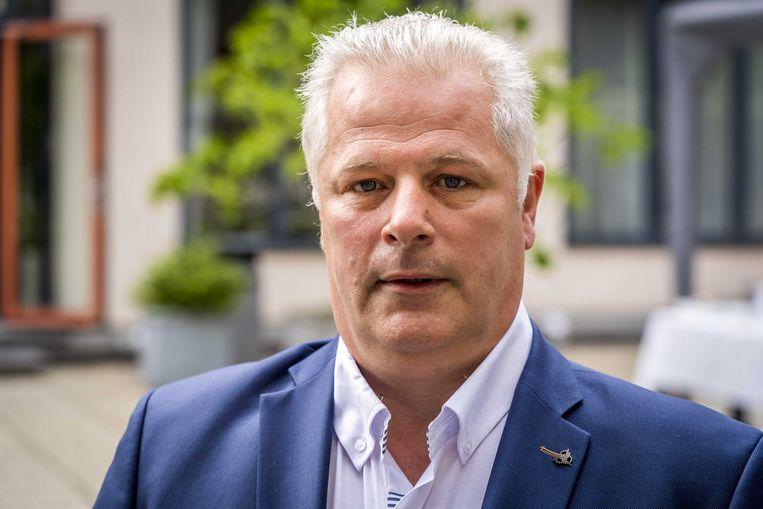 Voorzitter van politievakbond ACP, Gerrit van de Kamp. Beeld ANP