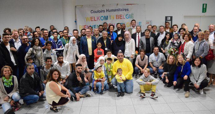 Op Brussels Airport is deze morgen een nieuwe groep van 29 Syrische vluchtelingen aangekomen.
