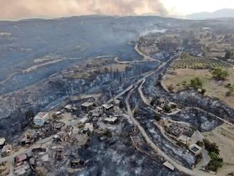 Al vier doden door bosbranden in regio Antalya