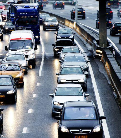 Twee ongevallen op A59 bij Den Bosch zorgen voor flinke vertraging