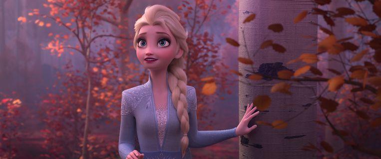 Elsa in het bos. Beeld RV Walt Disney