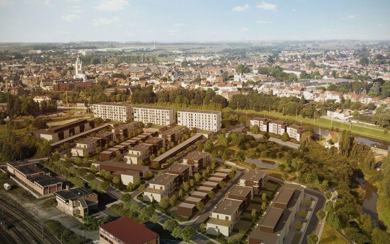 Het woonproject Nederhem is een van de nieuwe woonprojecten in de stad die heel wat nieuwe inwoners lokt.