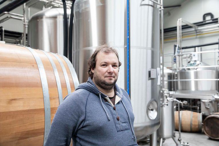 Davy Daniëls, één van de drie uitbaters van The Belgian Amburon Brewery die failliet werd verklaard.