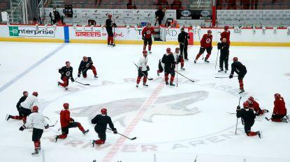Zorgen om het ijshockey: 43 NHL-spelers testen positief in voorbereiding, American Footballers krijgen speciaal mondmasker