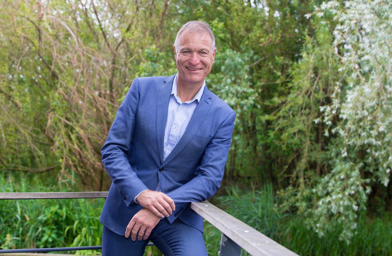 Wethouder Erik van Beurden (GroenLinks-PvdA).