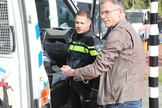 Aanhouding van klimaatverslaggever en oud-hoofdredacteur Hans Nijenhuis.