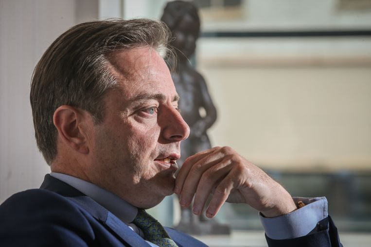 N-VA-voorzitter Bart De Wever.