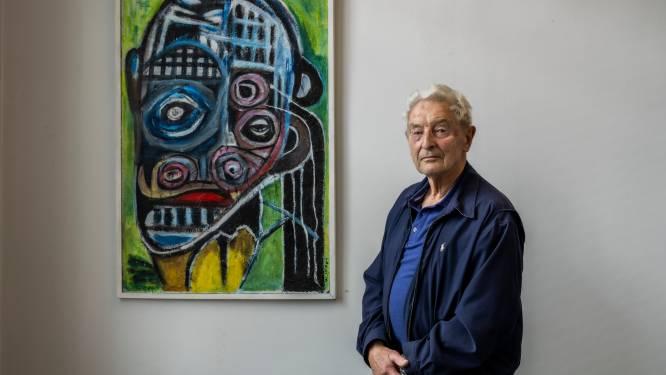 Willy (84) exposeert in galerij De Rode Loper