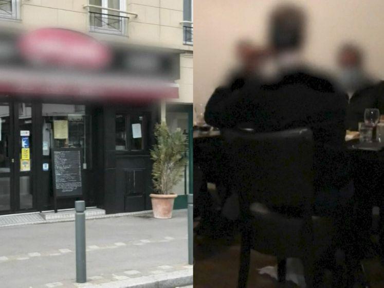 Alsof corona niet bestaat: Franse politie valt binnen in illegaal restaurant
