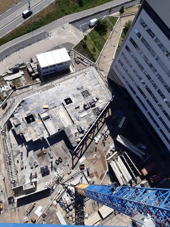 Belvédère II is het laatste kantoorpand dat gebouwd wordt