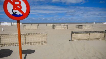 Zee en zand vormen geen groot risico op besmetting, zwerfvuil op het strand wél