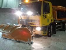 Strooiers werken 24 uur per dag om wegen in Gorinchem begaanbaar te houden