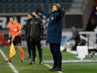 """Hein Vanhaezebrouck (AA Gent) mist leiders: """"Wie het team bij de hand nam? De coach, bij de rust"""""""