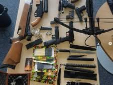 Geen wapenhandel, wel illegaal bezit