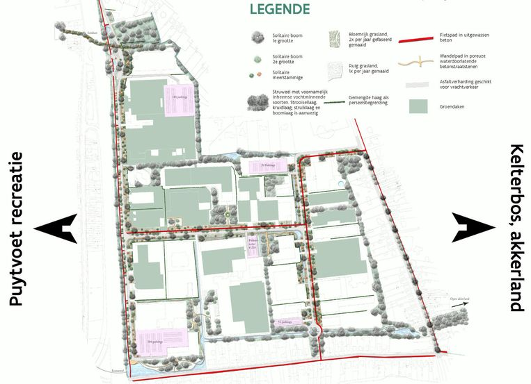 Zo zou het - groenere - Industriepark-Noord eruit kunnen gaan zien.