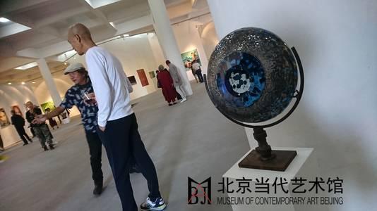 David Beliën staat op de expositie in China.
