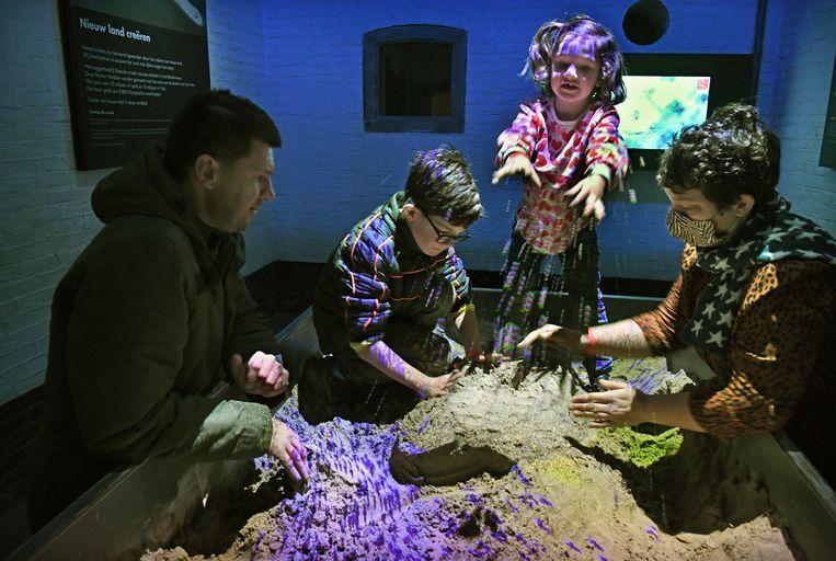 Museum GeoFort in Herwijnen doet mee aan een proefopenstelling in deze coronatijd.  Beeld Marcel van den Bergh/de Volkskrant