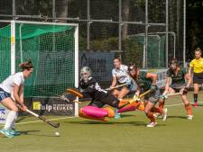 Vrouwen HC Tilburg zegevieren in stadsderby: 'Heb al lang niet meer voor zoveel mensen op het veld gestaan'