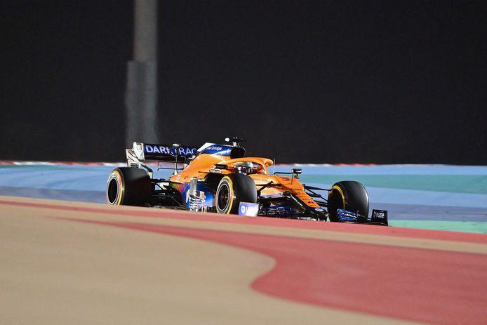 Daniel Ricciardo tijdens de GP van Bahrein.