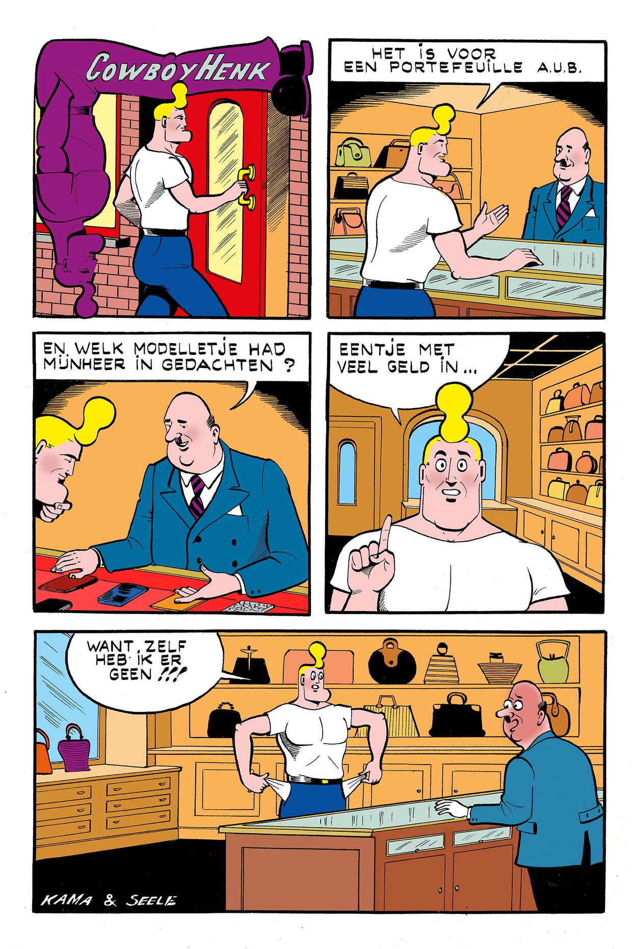 Cowboy Henk 20 Beeld Kamagurka