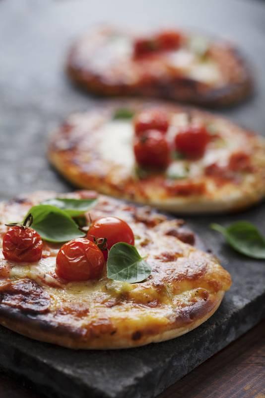 Vegetarische pizza.