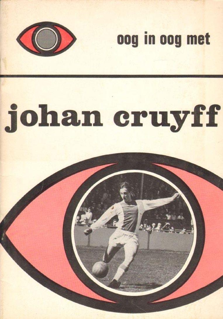 De eerste biografie van Johan Cruijff, van Frank Bonte, uit 1967. Beeld Frank Bonte.