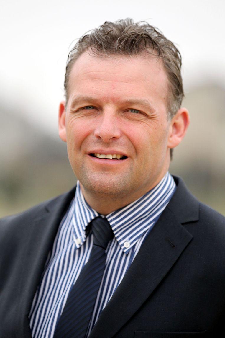 Steve Vandenberghe, burgemeester Bredene