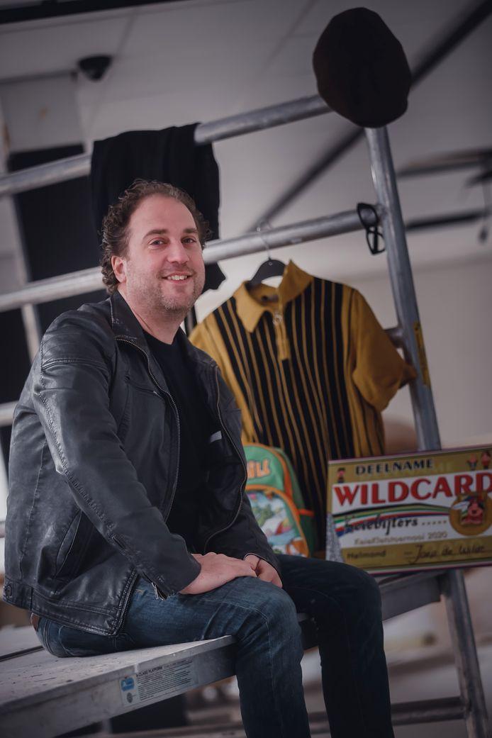 Een goede grap zit 'm vooral in het onverwachte, zegt Joep de Wildt.